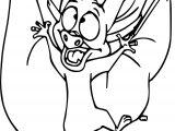 Anastasia Bat Coloring Page