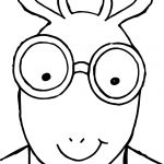 Arthur Face Coloring Page