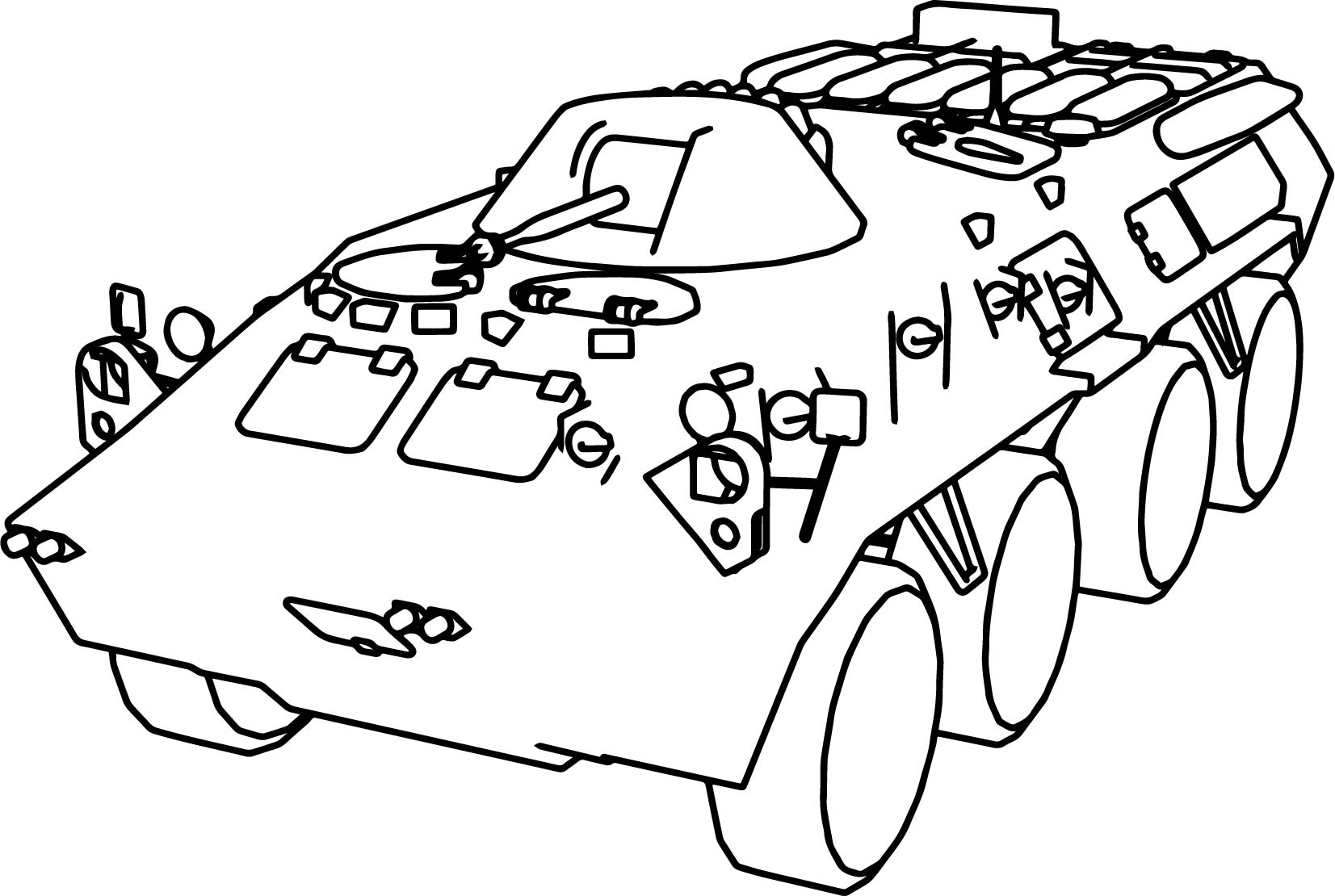 btr 80 military truck coloring page wecoloringpage