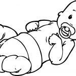Baby Boy Top Coloring Page