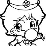 Baby Daisy Baby Daisy Coloring Page