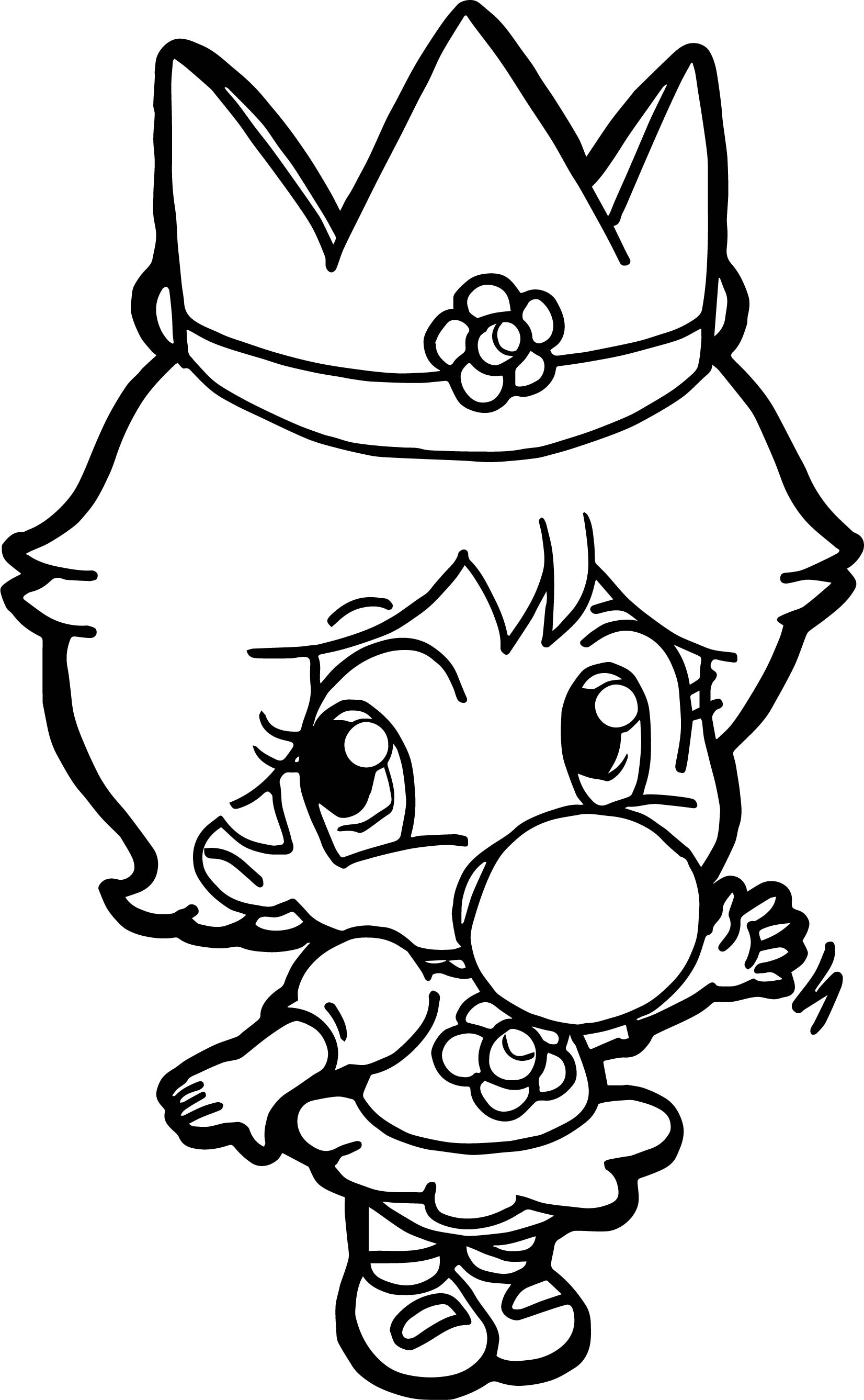 mario coloring pages as babies - photo#10