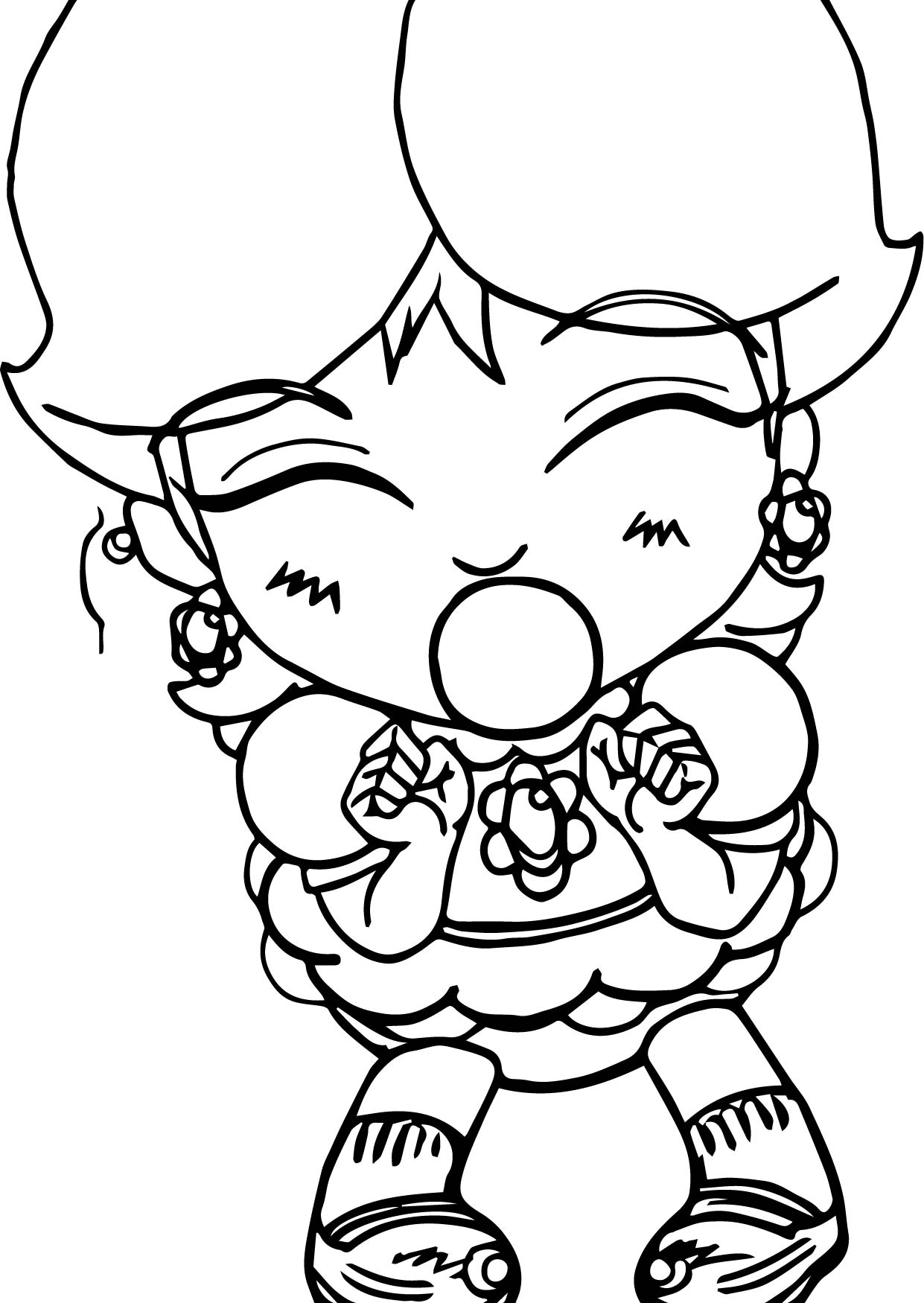 baby daisy coloring pages - photo #20