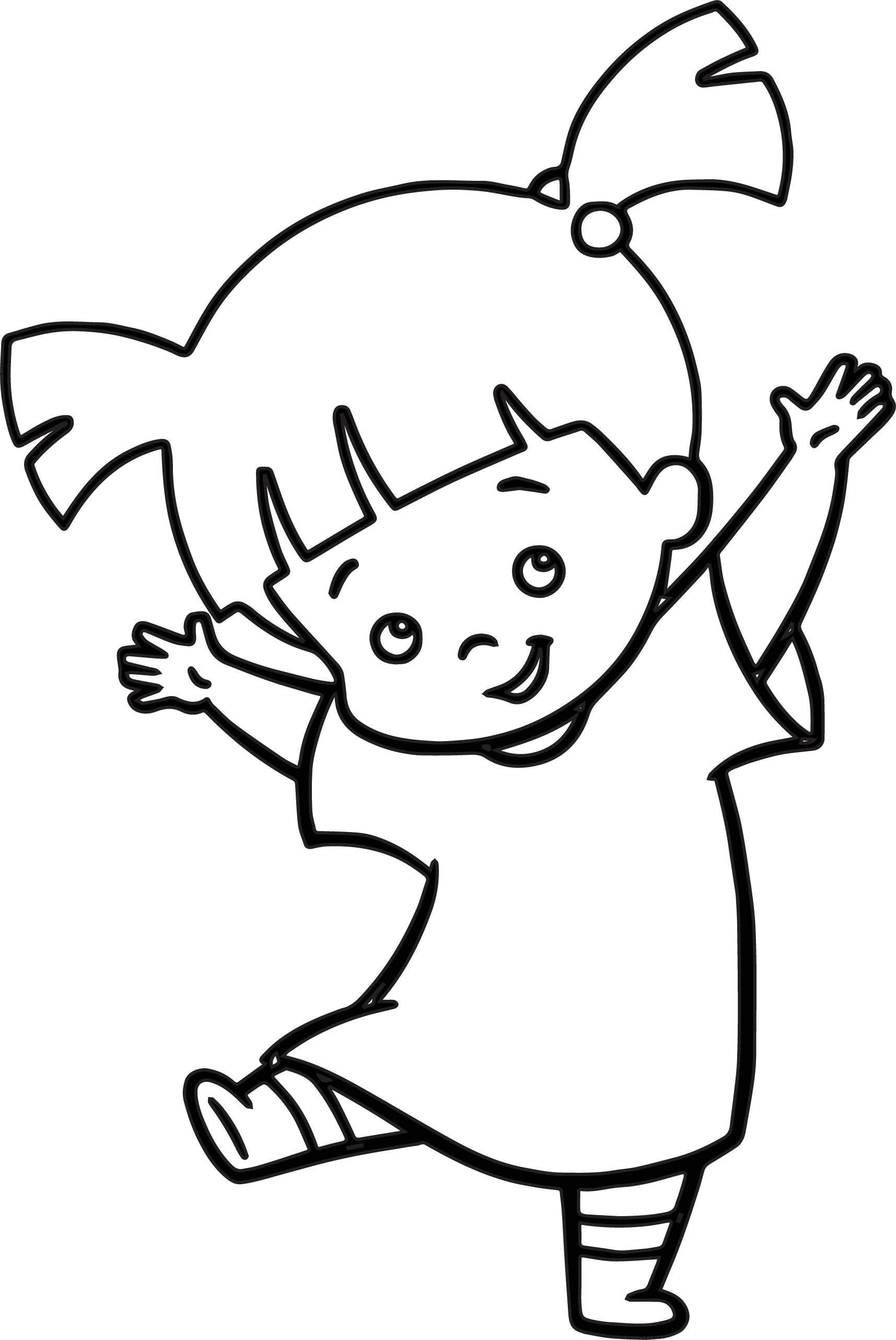 boo beautiful girl coloring pages wecoloringpage