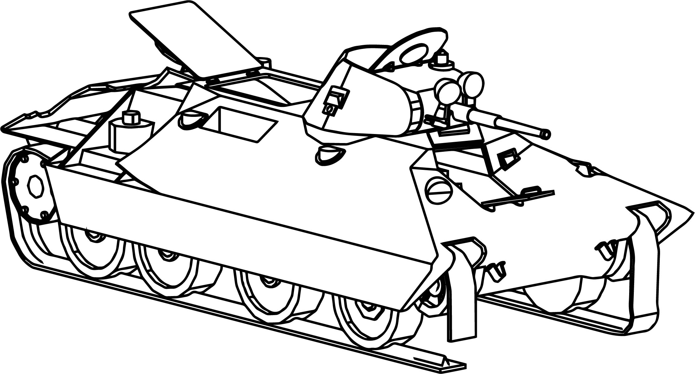Bt sv wot tank coloring page for Tank coloring page