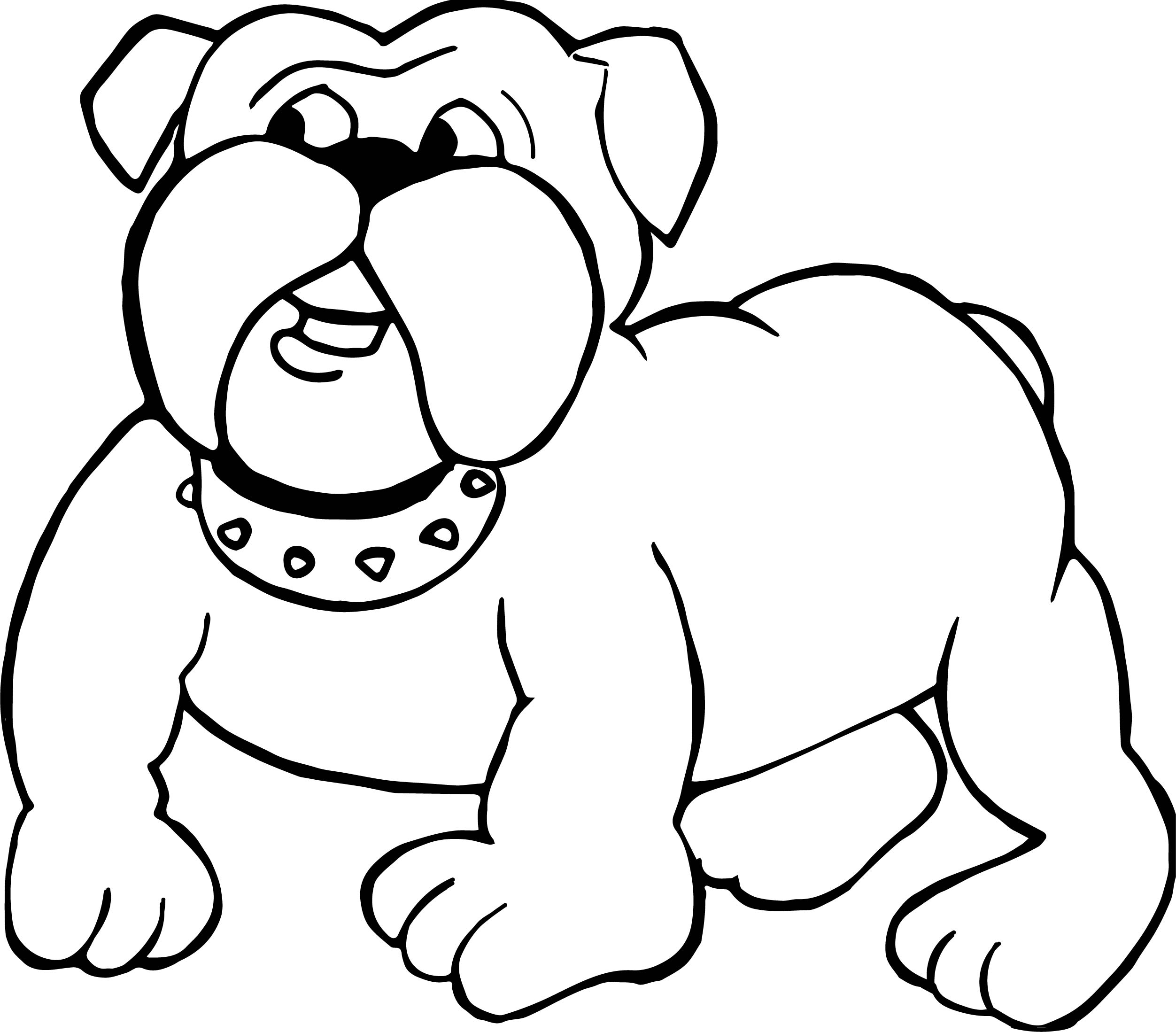 bull puppy coloring pages - photo#19