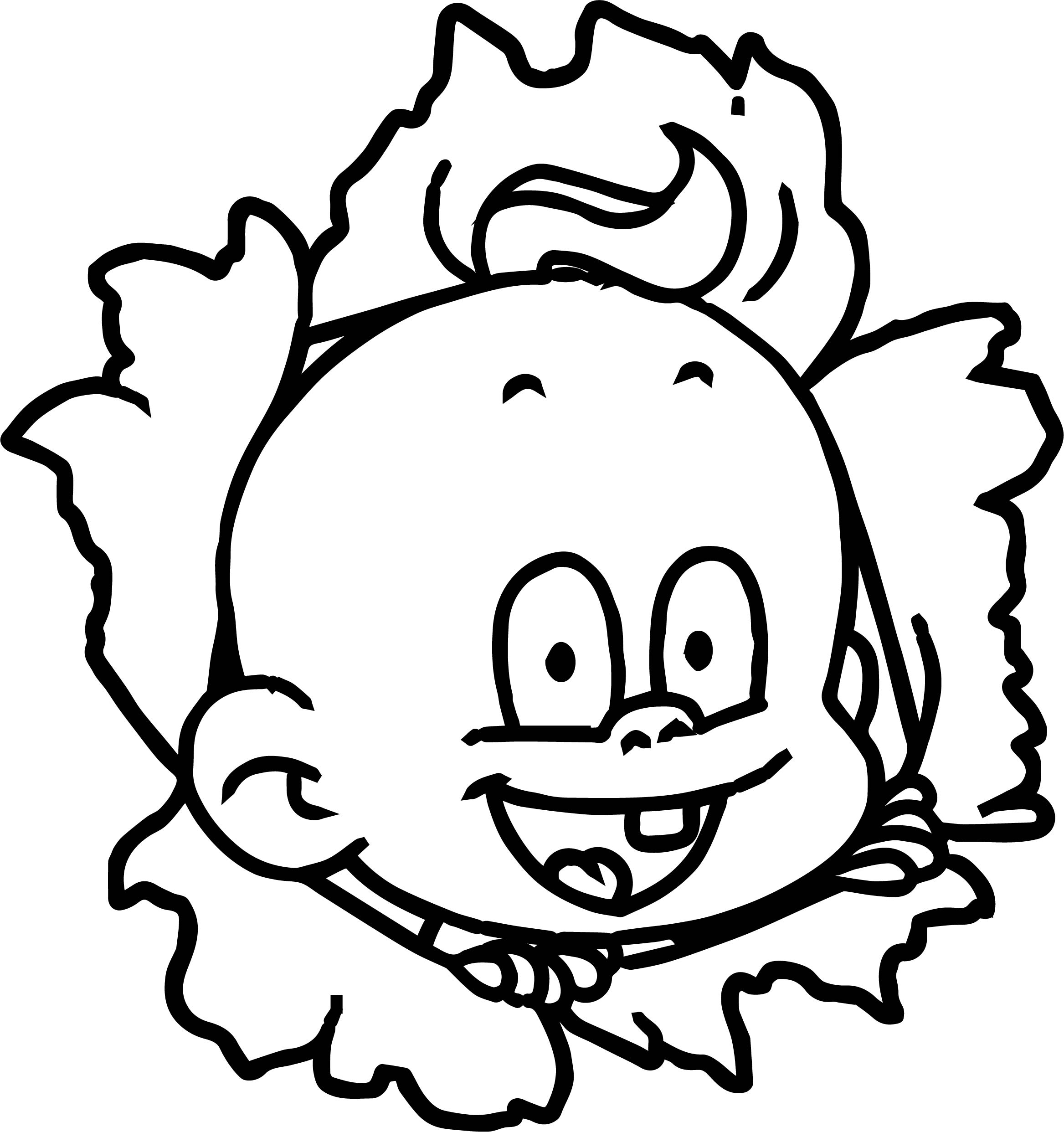 Cartoon Baby Boy Coloring Page