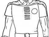 Cartoon Robin Coloring Page