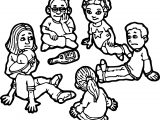 Children Bottle Board Game Coloring Page