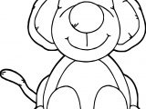 Chubby Puppy Dog Coloring Page