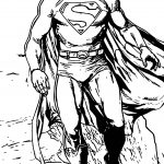 Coming Superman Superheroes Super Hero Coloring Page