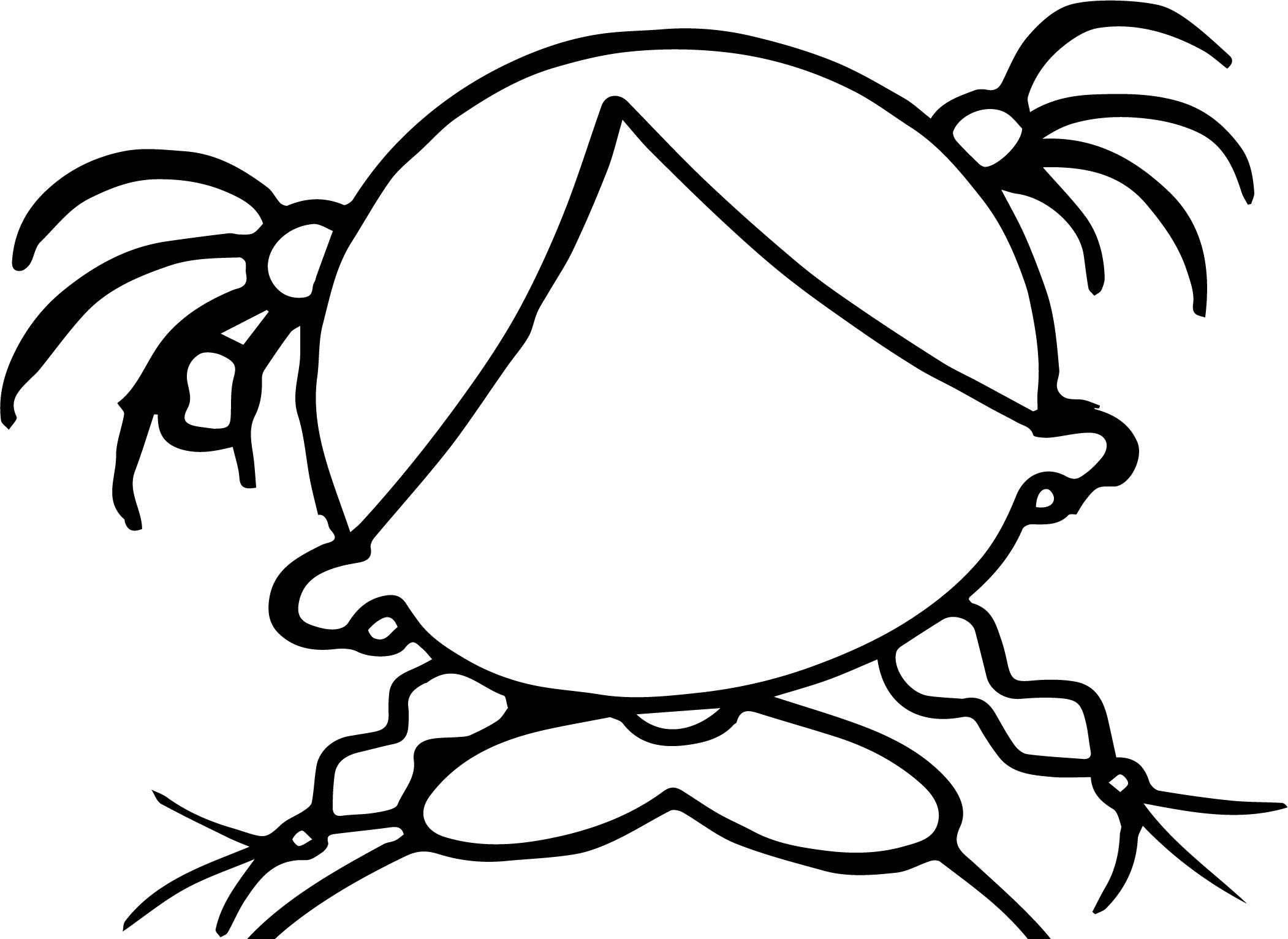 Create Own Girl Face Empty Coloring Page Wecoloringpage