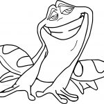 Disney The Princess And The Happy Frog Coloring Page