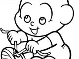 Display Turma Da Monica Baby Coloring Page