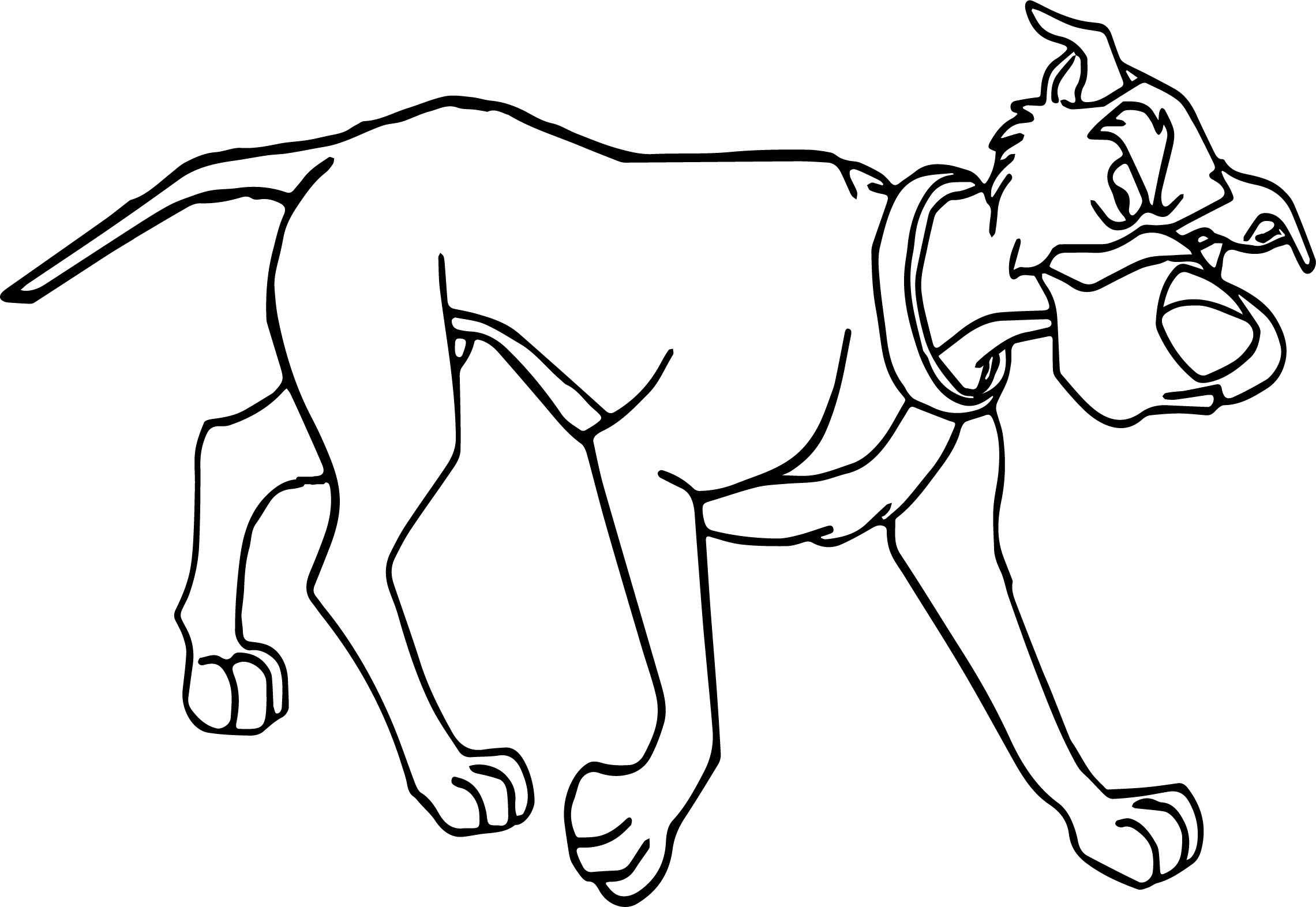 Dog Chief Coloring Page | Wecoloringpage.com