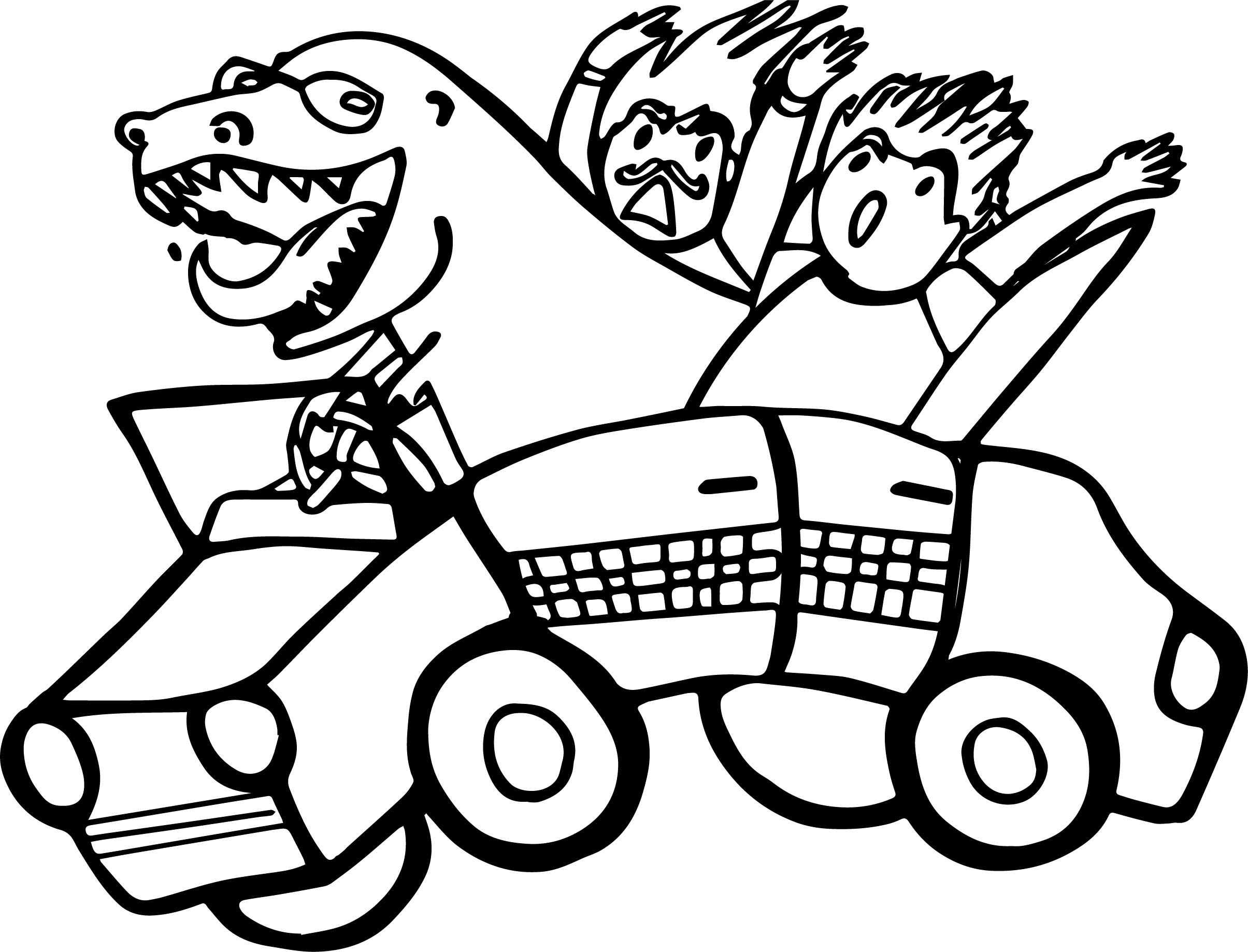 Dragon taxi driver car coloring page wecoloringpage for Taxi coloring page