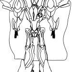 Escaflowne Robot Manga Coloring Page