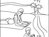 Family Beach Coloring Page