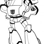 Fat Transformers Coloring Page