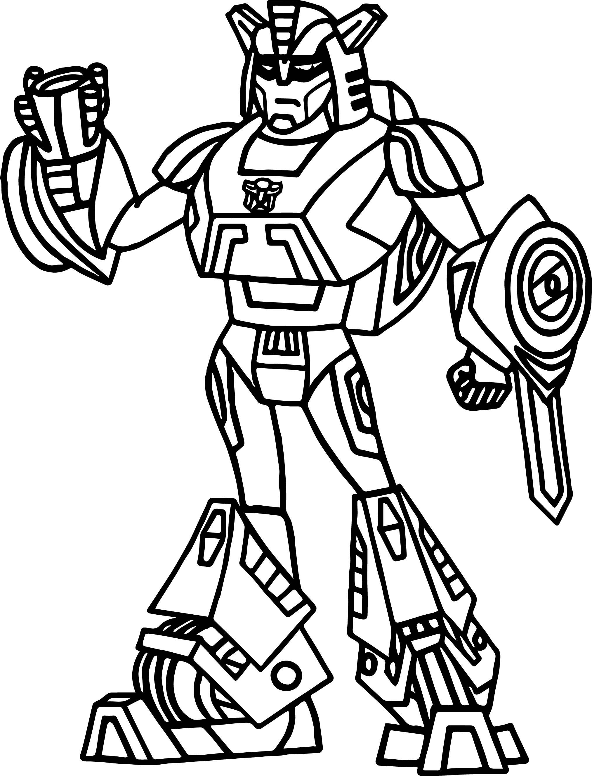 transformers fighting coloring pages - photo#21