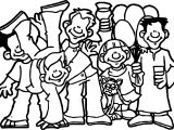 Friendship Photo Coloring Page