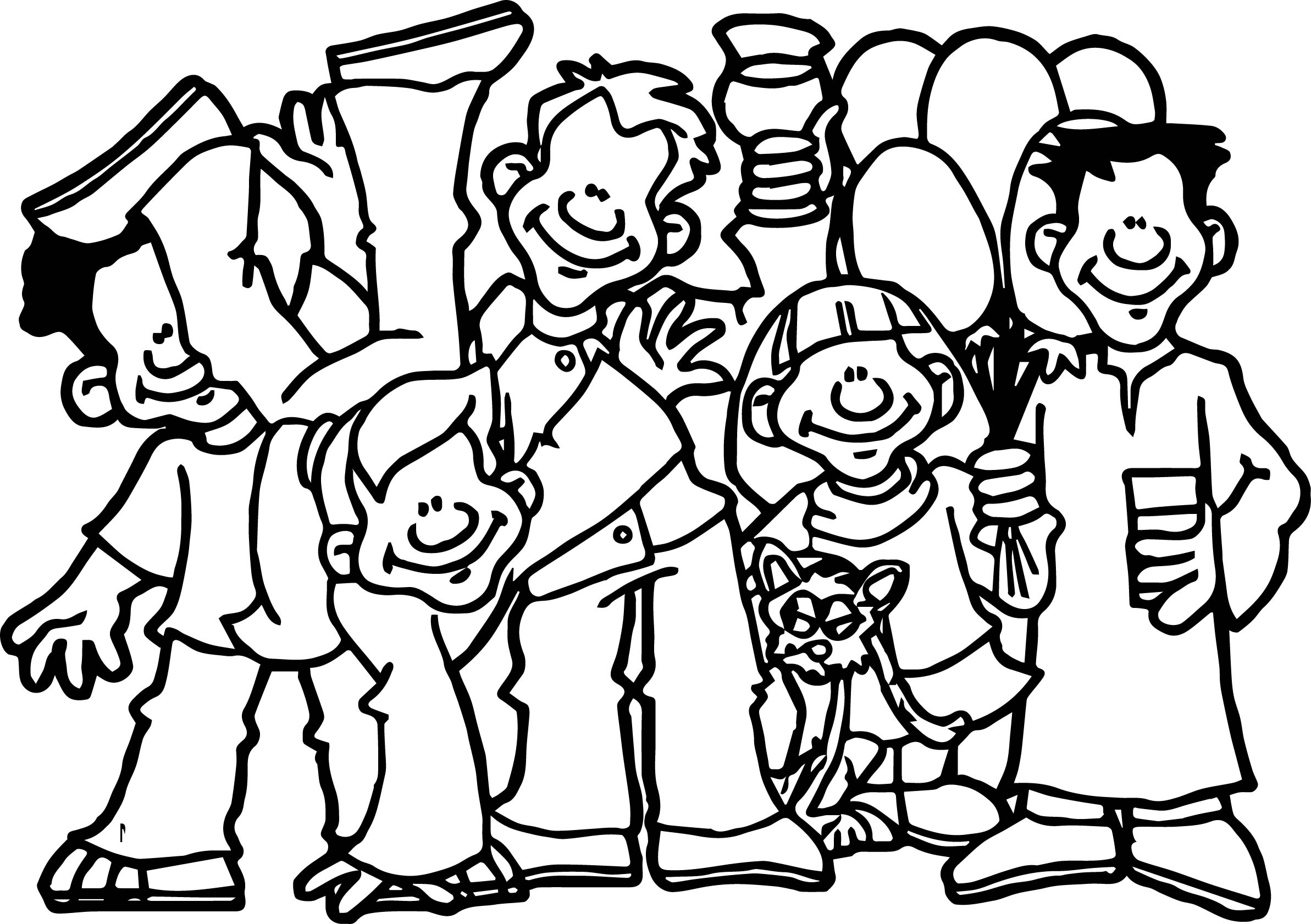 friendship photo coloring page wecoloringpage