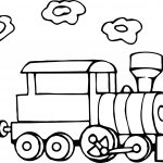 Going Train Coloring Page