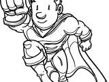 Good Superheroes Man Super Hero Coloring Page