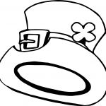 Hat All Saint Day Coloring Page