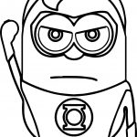 Hero Man Minions Coloring Page