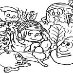 In The Of World Dudulino Fruit Coloring Page