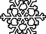 Interesting Snowflake Coloring Page