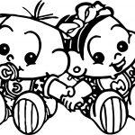 Invitation Turma Da Monica Baby Coloring Page