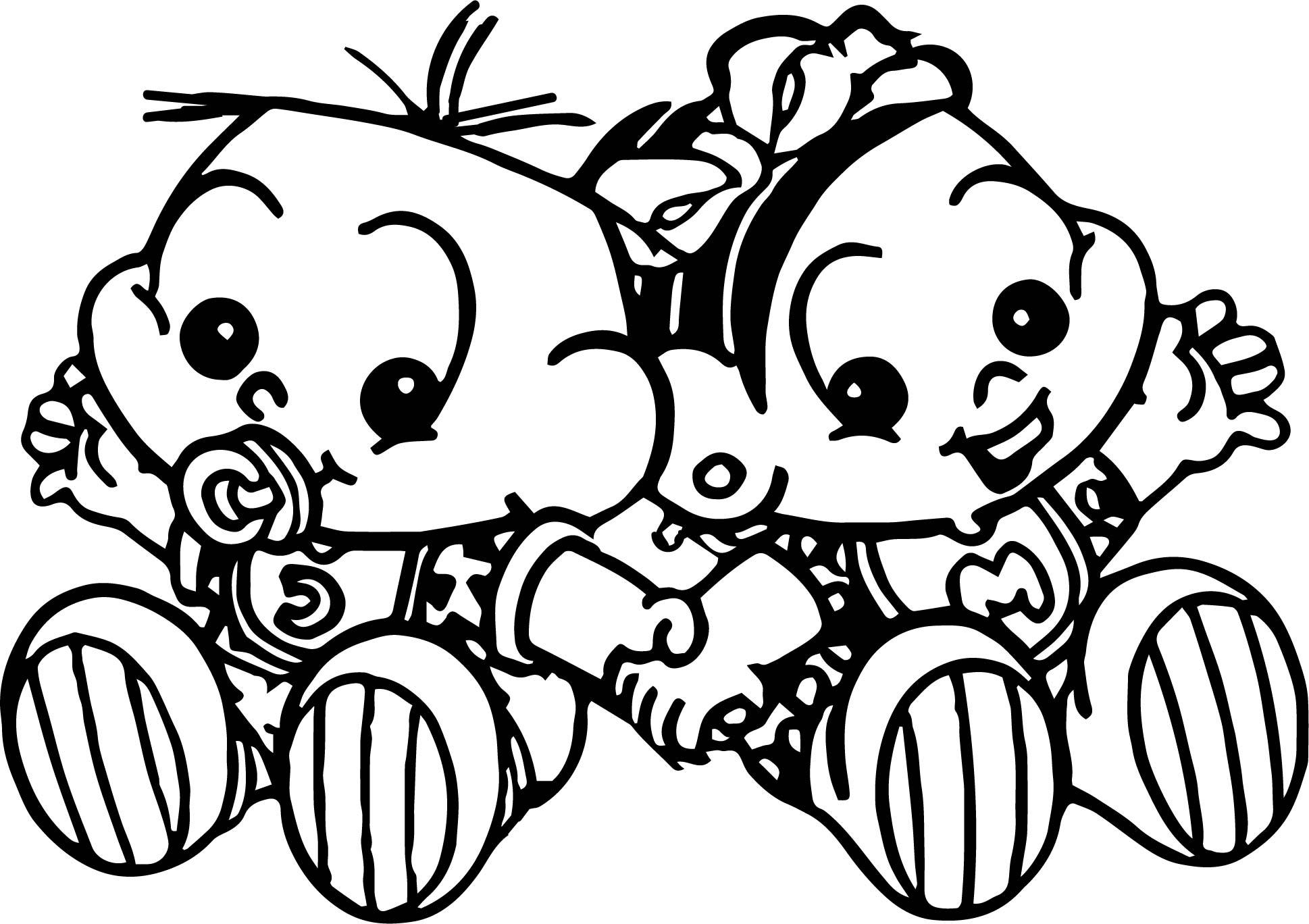 Invitation Turma Da Monica Baby Coloring Page Wecoloringpage