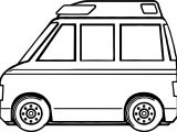 Mini Ambulance Coloring Page