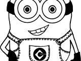 Minion Minions Idiot Coloring Page