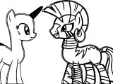 Mlp Base Oc X Zecora Coloring Page