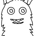 Mounstritos On Monsters Coloring Page