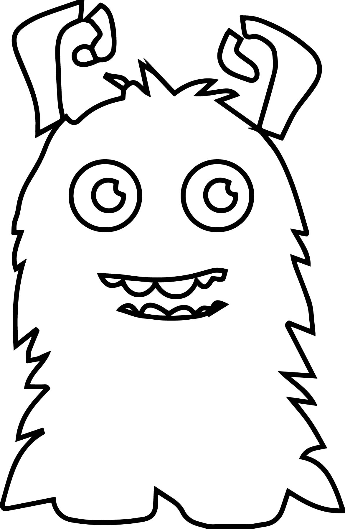 www coloring page com - mounstritos on monsters coloring page