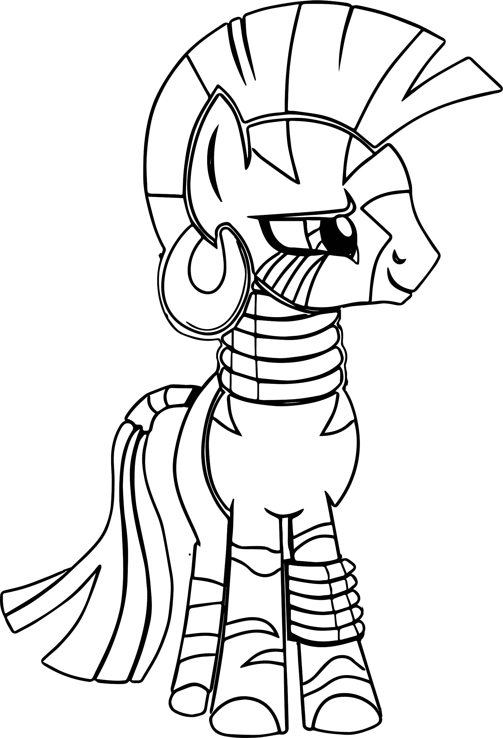 My First Of Zecora Coloring Page