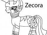 My Little Pony Zecora Coloring Page