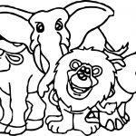 Namibia Animal Kingdom Animals Coloring Page