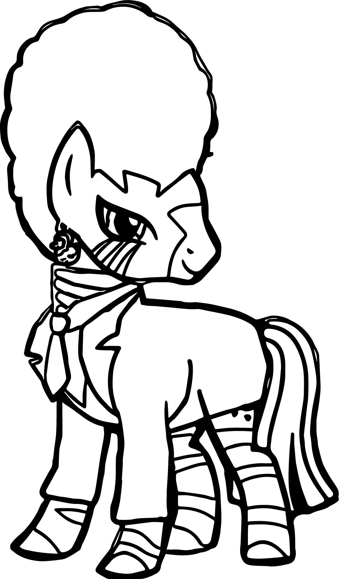 Pool S Closed Zecora Coloring Page