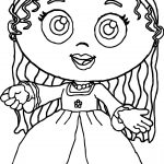 Princess Pea Super Why Coloring Page