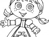 Princess Red Super Why Coloring Page