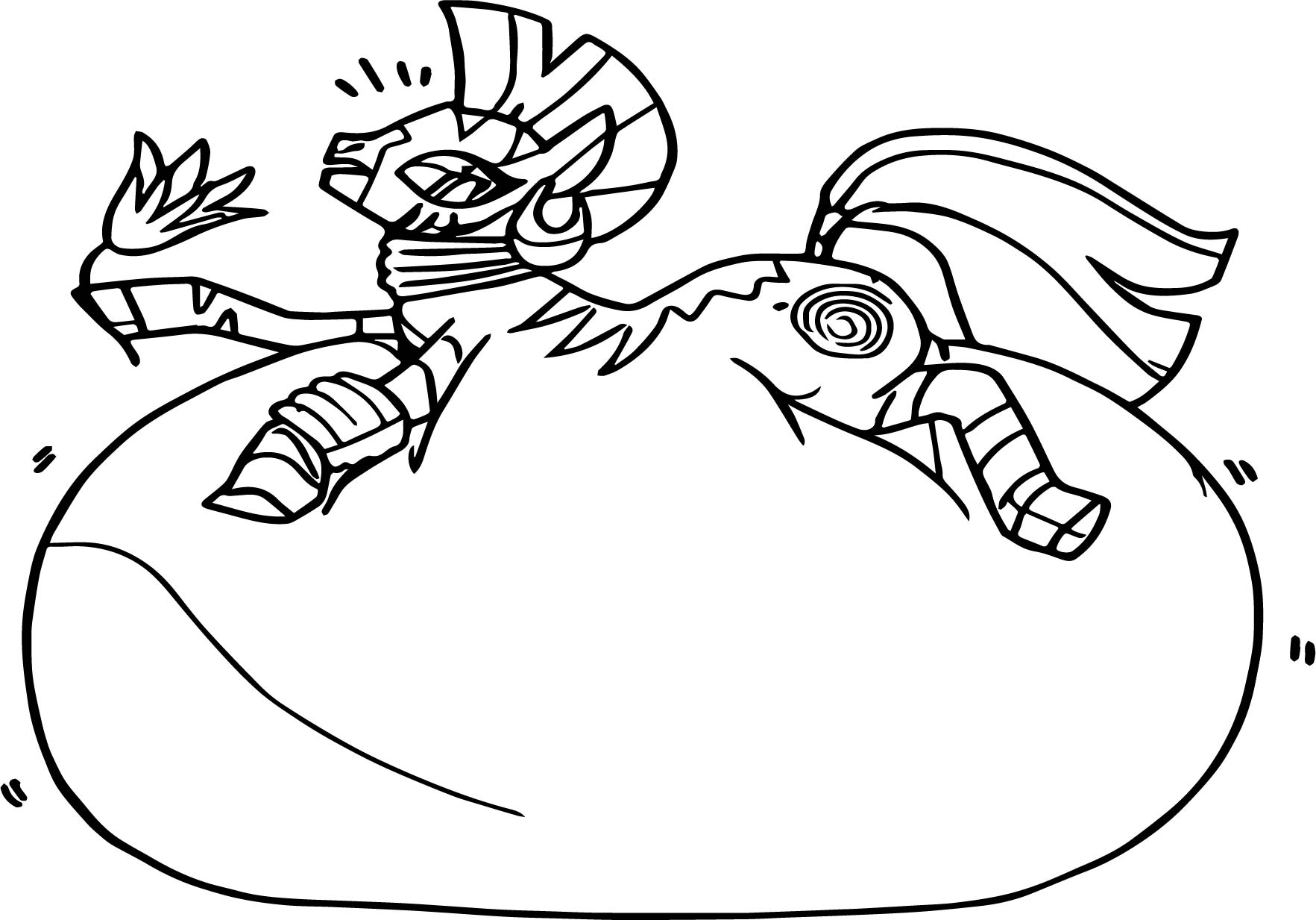 Questionable Plot Zecora Inflation Zebra Artist Colon Fathips Coloring Page