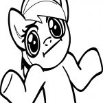 Rainbow Dash What Can I Do Coloring Page