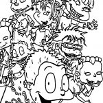 Rugrats Wallpaper Coloring Page