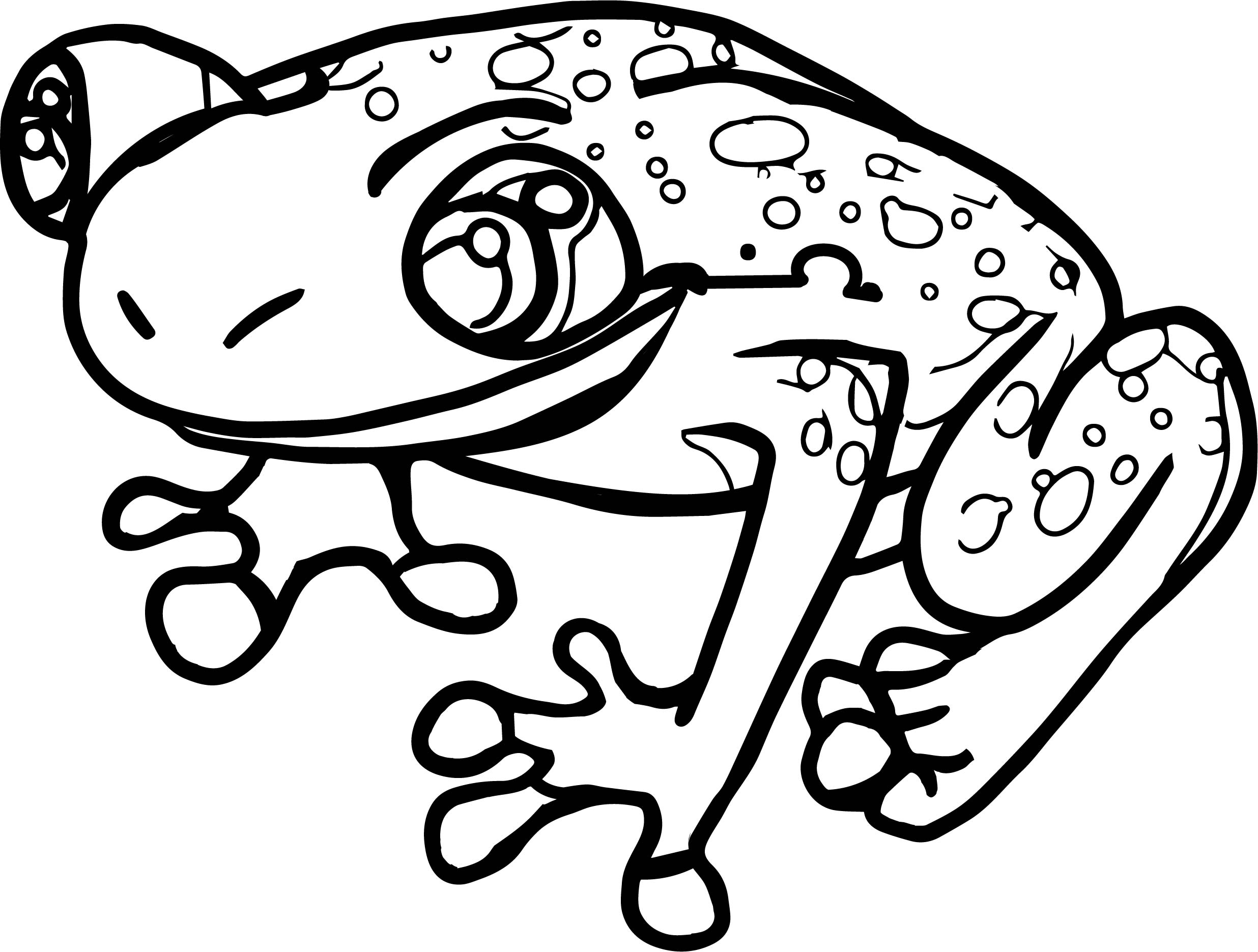 salmonella frog coloring page wecoloringpage