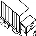 Secret London Iso Truck Coloring Page